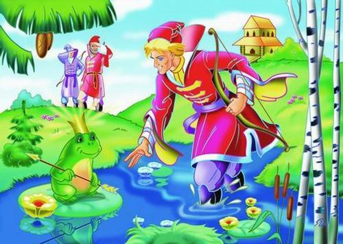 картинка царевна лягушка сказка
